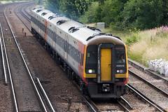 SWR - 159019 (Signal Box - Railway photography) Tags: outdoor railway railroad ukrailway mainline dmu diesel train swr sprinter 159019 wortingjunction hampshire passenger class159 dieselmultipleunit southwesternrailway