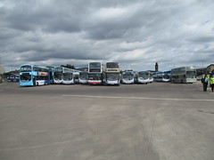 Buses Galore (cessna152towser) Tags: firstglasgow firstbus gemini dennis trident volvo