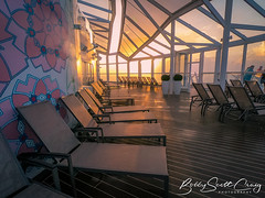 Sunrise on deck! (- Bobby Scott Craig-) Tags: cruise symphonyoftheseas deck sunrise