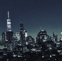 It's up to you (jalhadef) Tags: city nyc newyork skyline landscape views citylights