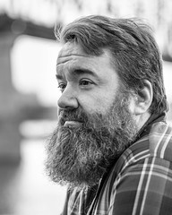 SamsShoot-5870Fix8x10cBW (Mike WMB) Tags: bear beard blackandwhite
