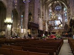 Palma Cathedral (SteveProsser) Tags: mediterranean mediterraneancruise norwegianepic palmademallorca palmaspain cathedralofsantamariaofpalma laseu cathedraloflight