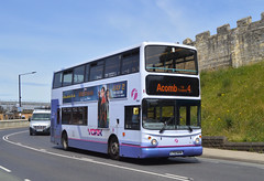 32249. LT52 WVM: First York (chucklebuster) Tags: lt52wvm first york south yorkshire centrewest volvo b7tl alexander alx400