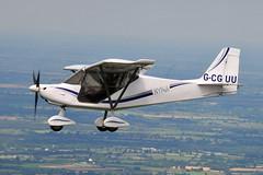 G-CGUU Skyranger Nynja (eigjb) Tags: aerial photo airtoair microlight aircraft plane spotting aviation kildare ireland aeroplane airplane gcguu skyranger nynja