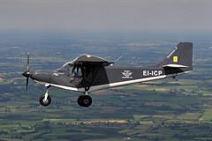 EI-ICP ICP Savannah S (eigjb) Tags: aerial photo airtoair microlight aircraft plane spotting aviation kildare ireland eiicp savannah s funfly aerosports irish