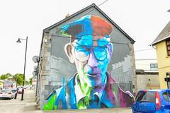 Sligo Mural (Salmix_ie) Tags: mural sligo town county ireland nikon nikkor d500 july 2019 street art painting person joe carroll
