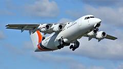 G-JOTR (AnDyMHoLdEn) Tags: jotaaviation bae146 egcc airport manchester manchesterairport 23l