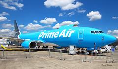 Boeing B737 ~ N855DM  Prime air (Aero.passion DBC-1) Tags: 2019 salon du bourget paris airshow dbc1 david biscove aeropassion avion aircraft aviation plane lbg meeting b737 boeing ~ n855dm prime air