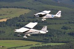 Nynjas (eigjb) Tags: aerial photo airtoair microlight aircraft plane spotting aviation kildare ireland skyranger nynja gcguu eifxv 912s