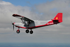EI-GHR ICP Savannah S (eigjb) Tags: aerial photo airtoair microlight aircraft plane spotting aviation kildare ireland eighr icp savannah s irish light funfly aerosports