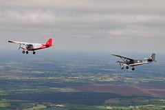 Savannah's (eigjb) Tags: aerial photo airtoair microlight aircraft plane spotting aviation kildare ireland eighr icp savannah s irish light funfly aerosports
