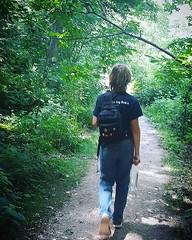 Walk in the woods today before heading back home to texas! 💚💙🌲💙💚 (Morningstar_Curio) Tags: ifttt instagram morningstar curio sarah peen corn art artist sculpture atx austintx