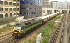 D1944 [47501] Battersea Loops (localet63) Tags: class47 47501 d1944 battersea railtour 5z47 emptystockmovement locomotiveservices