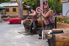 EAC_8963r (crobart) Tags: west coast lumberjack show celebration canada canadas wonderland cedar fair amusement theme park