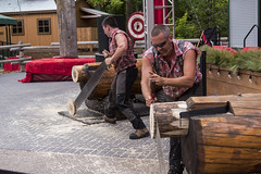 EAC_8994r (crobart) Tags: west coast lumberjack show celebration canada canadas wonderland cedar fair amusement theme park