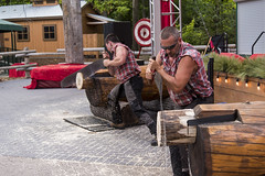 EAC_8975r (crobart) Tags: west coast lumberjack show celebration canada canadas wonderland cedar fair amusement theme park