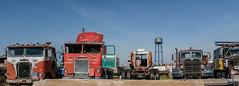 At The Truckstop (Neal3K) Tags: iowa80truckstop i80 truckstop worldslargesttruckstop walcottia interstate iowa vintagetruck vintagevehicles wclx10028mmlens