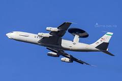 USAF E3-B SENTRY AMBERLEY (Sierra Delta Aviation) Tags: usaf e3b sentry amberley airport