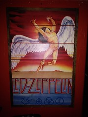 Led Zeppelin poster (c_nilsen) Tags: pacifica digital sanmateocounty california bar longboardmargaritabar music poster ledzeppelin cameraphone