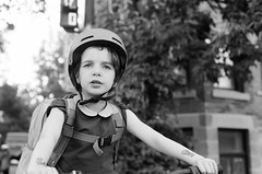 rider (xophe_g) Tags: nikonfe nikon50mm18e 400tx film analog child bike