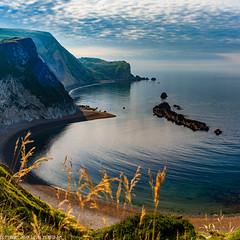 DSC_5799-Pano: Man O War Beach, Dorset (Colin McIntosh) Tags: dorset durdle door nikon d610 50mm h f2 manual focus