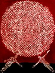 ●Cosmic Spirit-The Adam (Wonil Lee) Tags: cosmic spirit soul mind meditation chi ki wave formation tao taichi one adam yin yang way relationship glory partner horizon season mother stage drawing oil painting watercolor mixed media ink photoshop dot line shape 3d man woman sex birth life love dead bright dark paper canvas abstract quasiabstract pattern circle round organic texture curve black background lines minimalism symmetry diagonal horizontal surreal geometric photo border