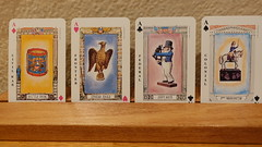 American Historical Playing Cards 5-19 07 (anothertom) Tags: playingcards usgamessystems americanhistoricaldeck useditem colonialsuit federalsuit frontiersuit civilwar aces aceof 2019 sonyrx100v