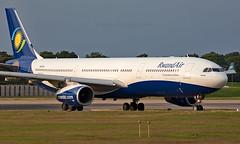 9XR-WP - Airbus A330-343 - LGW (Seán Noel O'Connell) Tags: rwandair 9xrwp airbus a330343 a330 a333 gatwickairport lgw egkk kgl hryr bru ebbr 08r wb701 rwd701 aviation avgeek aviationphotography planespotting