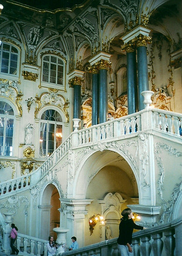 The Jordan Staircase, Winter Palace, St Petersburg, Russia
