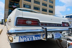 Impeach Nixon (dangaken) Tags: auto car carshow show automobile musclecar vw volkswagen chevy chevrolet polish wax baycitymi baycity greatlakesbay baycitycarshow riverroar boatraces downtownbaycity eastside eastsidebaycity richardnixon nixon bumpersticker impeachnixon impeach president trump impeachtrump politcalbumpersticker politics republican gop politicalbumpersticker ford vintageford fordltd ltd fujifilmxt2 fujifilm fuji fujinon xt2 saginawriver baycounty puremichigan gogreatlakesbay greatlakesbayregion ontheriver rockintheriver vintagecar classiccar antiquecar classic vintage old antique collectors heritage collectable fujixmount fujixsystem fujifilmxsystem fujix fujifilmx