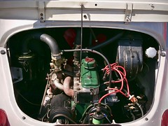 Moteur Renault 4CV (pierre.pruvot2) Tags: voituresdecollection renault 4cv moteur engine vintagecar panasonic lumixg9 france pasdecalais calais