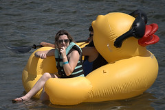Life Is Just Ducky (Scott 97006) Tags: float inflatable duck ride water river