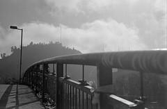 29e (mati.a) Tags: clouds nubes cerro puente bridge chile analog 35mm film bw nikon fm2 nikonfm2 kodak kodaktrix kodaktrix400 trix400 trix