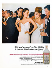 """"""" g i n n y """" (epiclectic) Tags: milshire gin life lifemagazine vintage retro madmen ad alcohol drinking booze martini"""