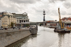 (lemank) Tags: moscowsummer2019 moscowwalk riverbank vodootvodnycanal bridge patriarshybridge