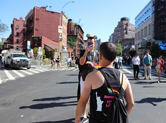 23a.Start.QueerMarch.NYC.30June2019 (Elvert Barnes) Tags: 2019 newyorkcitynewyork newyorkcityny nyc newyorkcity2019 nyc2019 gaypride gaypride2019 streetphotography2019 streetphotography newyorkcitystreetphotography nycstreetphotography2019 49thnycgaypride2019 newyorkcitygaypride nycgaypride greenwichvillage greenwichvillage2019 june2019 30june2019 reclaimpridecoalitionnyc reclaimpridecoalitionnyc2019queerliberationmarchrally sundaymorning30june2019lineupforqueerliberationmarch sunday30june2019nyc sundaymorning30june2019nyc stepoff2019queerliberationmarchnyc