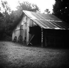 Penn Farm, Cedar Hill State Park (laura_rivera) Tags: squareformat square 6x6 120film 120 mediumformat