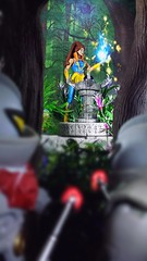Under HORDE surveillance (custombase) Tags: mastersoftheuniverse classics shera princessofpower figures castaspella lookee etheria woods diorama thehorde hordetroopers greatrebellion toyphotography magic