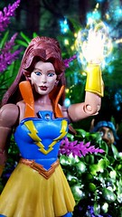 Castaspella (custombase) Tags: shera princessofpower mastersoftheuniverse classics figures castaspella lookee woods diorama greatrebellion etheria toyphotography magic