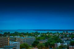 buffalo-skyline-aloft-hotel-downtown-8689 (FarFlungTravels) Tags: buffalo june lakeerie newyork places alofthotel riverfront skyline stay view