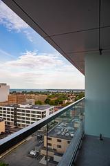 buffalo-skyline-aloft-hotel-downtown-8708 (FarFlungTravels) Tags: buffalo june lakeerie newyork places alofthotel riverfront skyline stay view