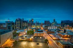 buffalo-skyline-aloft-hotel-downtown-8688 (FarFlungTravels) Tags: buffalo june lakeerie newyork places alofthotel riverfront skyline stay view