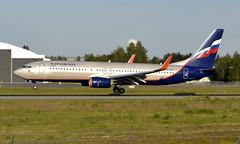 Aeroflot VQ-BVP, OSL ENGM Gardermoen (Inger Bjørndal Foss) Tags: vqbvp aeroflot boeing 737 osl engm gardermoen