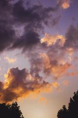 Technicolour [ Explored] (Myles Ramsey) Tags: sunset sun sky clouds light colour pink aesthetic vaporwave sunlight night end nature landscape