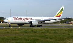 Ethiopian ET-ANR, OSL ENGM Gardermoen (Inger Bjørndal Foss) Tags: etanr ethiopian boeing 777 osl engm gardermoen