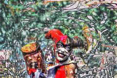 Harley Quinn (Paul B0udreau) Tags: newyorkcity nyc usa nikkor1855mm photoshop canada ontario paulboudreauphotography niagara d5100 nikon nikond5100 layer grandcentralstation midtownmanhattan midtowncomicsgrandcentral dccomics batman hammer figurine