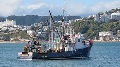 Fishing boat (M.Drain) Tags: canonsx70 newzealand places wellingtonharbour boat superzoom waterfront