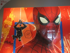 Spider-Man Far From Home Movie Theater Poster 5279 (Brechtbug) Tags: spiderman far from home ad movie poster billboard theater lobby 2019 nyc super hero marvel comic comics character spider man new york city film billboards standee theatre district midtown manhattan amazing coming ads advertising travel stamps july 07132019