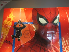 Spider-Man Far From Home Movie Theater Poster 5277 (Brechtbug) Tags: spiderman far from home ad movie poster billboard theater lobby 2019 nyc super hero marvel comic comics character spider man new york city film billboards standee theatre district midtown manhattan amazing coming ads advertising travel stamps july 07132019