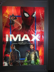 Spider-Man Far From Home Movie Theater Poster 5269 (Brechtbug) Tags: spiderman far from home ad movie poster billboard theater lobby 2019 nyc super hero marvel comic comics character spider man new york city film billboards standee theatre district midtown manhattan amazing coming ads advertising travel stamps july 07132019